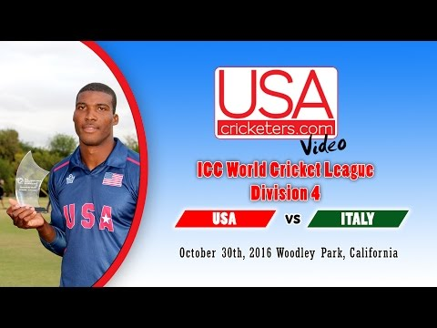 USA Cricket vs Italy at 2016 ICC World Cricket League Division 4 - Part 2