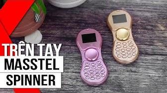 FPT Shop - Trên tay Masstel Spinner: Khi điện thoại kết hợp với Spinner