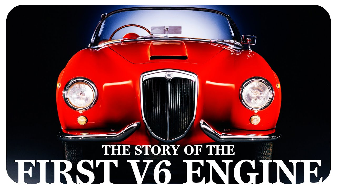The Story Of The First V6 Engine