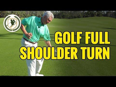 Improve Your Backswing – Full Shoulder Turn Drills For Golf