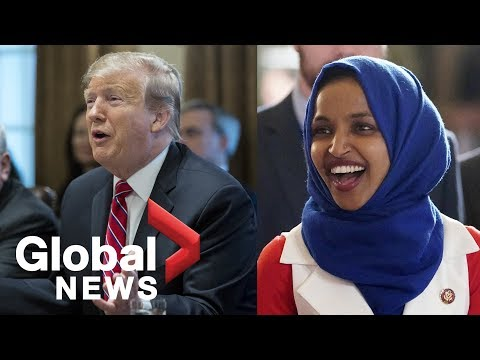Trump says Ilhan Omar should resign in response to perceived anti-Semitic tweets Mp3