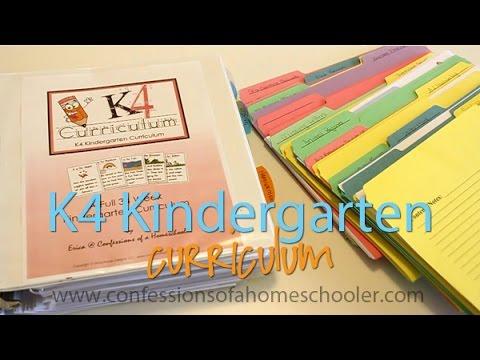 K4/5 Kindergarten Curriculum Review