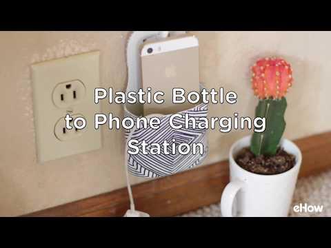 Phone Charging Station DIY (Using a Plastic Bottle)