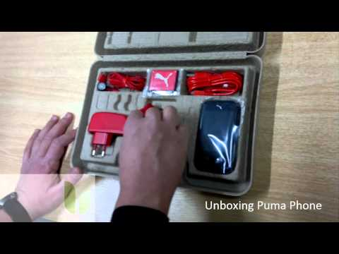 UNBOXING PUMA PHONE (GREEK).avi