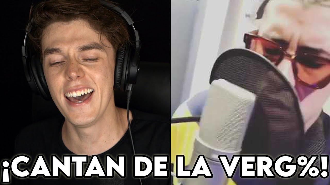 ESCUCHO Reggaetoneros ¡GRABANDO EN EL ESTUDIO! ¿Talento? Jajaja