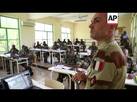 European Union military training mission in Mali