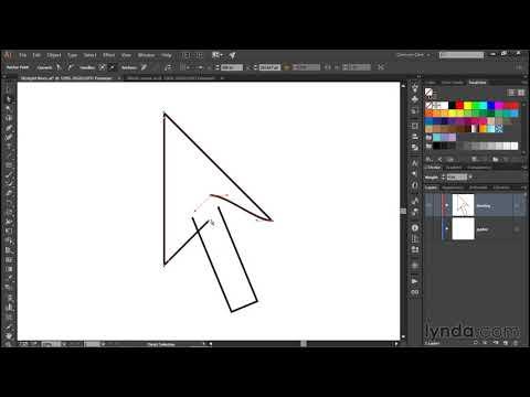 Using the Join tool in Illustrator CC | Deke's Techniques | lynda.com