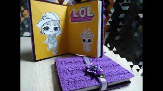 Warm notebook LOL/ Тёплый блокнот LOL/как сделать блокнот