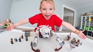 FATHER SON ULTIMATE LEGO BATTLE! / Star Wars Duel!