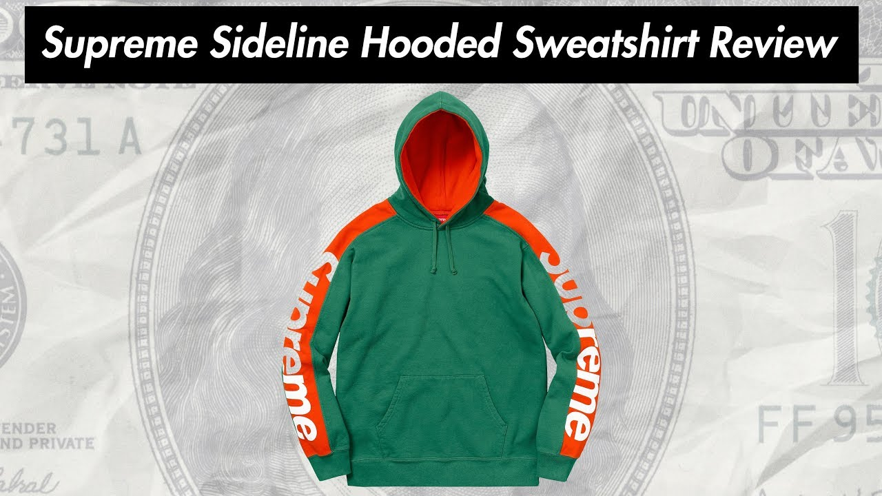 8286c622d2c8 Supreme Sideline Hooded Sweatshirt 18SS Review ( 22.03.2018 Week 5 Drop )