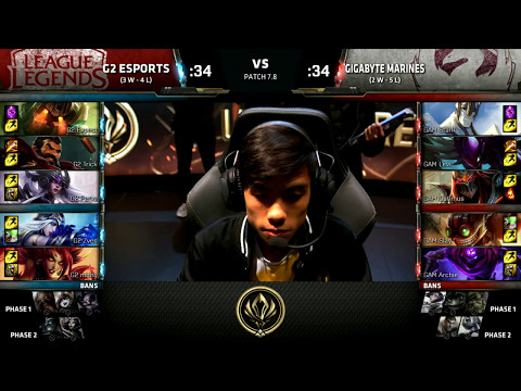 G2 vs GAM - 2017 MSI Group Stage - G2 Esports vs GIGABYTE Marines
