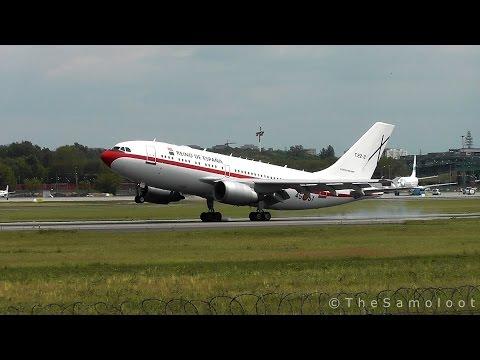 Rare! Spanish Air Force - Airbus A310 (T.22-2) landing at Warsaw Chopin Airport [NATO Summit 2016]