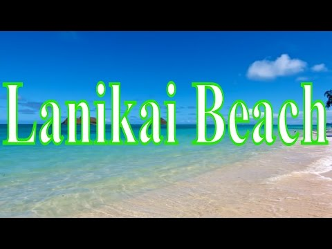 visiting-lanikai-beach,-beach-in-kailua,-hawaii,-united-states---the-best-beach-of-hawaii