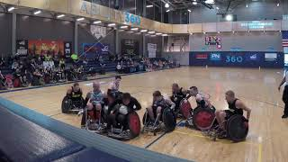 A little wheelchair Rugby nationals