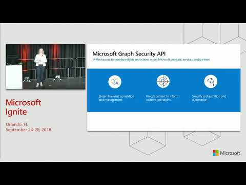 Harnessing the power of the Intelligent Security Graph - BRK2012