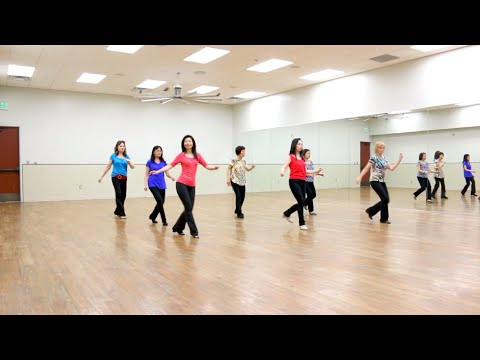 chacha-señorita---line-dance-(dance-&-teach-in-english-&-中文)