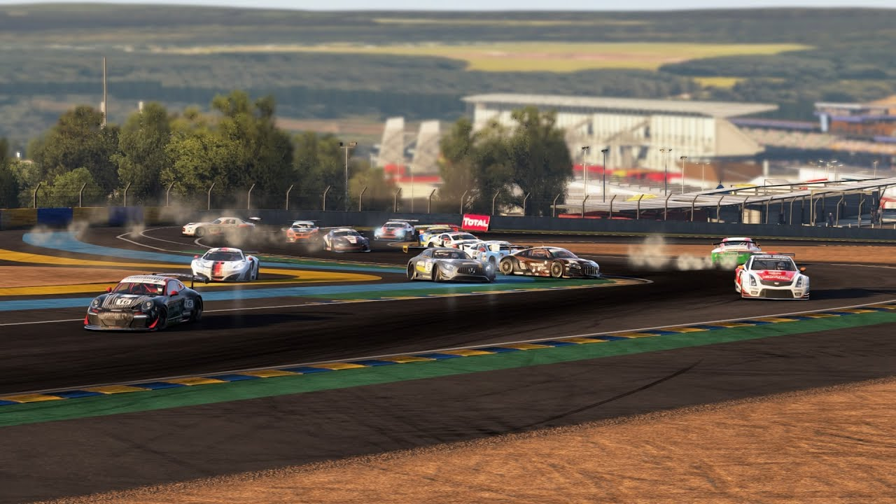 project cars online race 37 le mans mercedes benz amg gt3 broadcast no rules no fairness. Black Bedroom Furniture Sets. Home Design Ideas