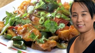 Chinese Fish In a Special Sauce Recipe (Chinese Seafood Recipe)
