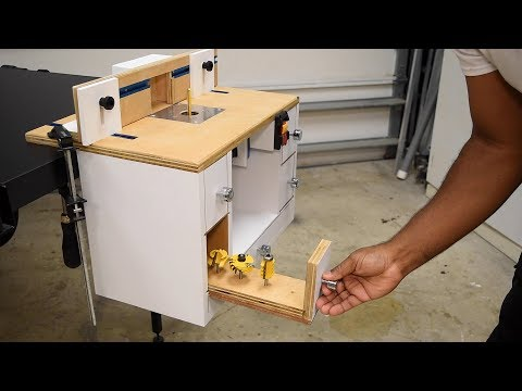 Making a Benchtop Router Table