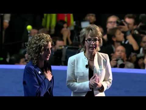 Democratic National Convention 2012 - Gabrielle Giffords Pledge Of Allegiance