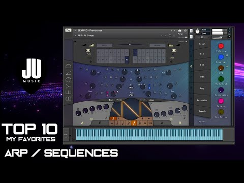 TOP 10 BEYOND Provenance Arps & Sequences   My Favorites