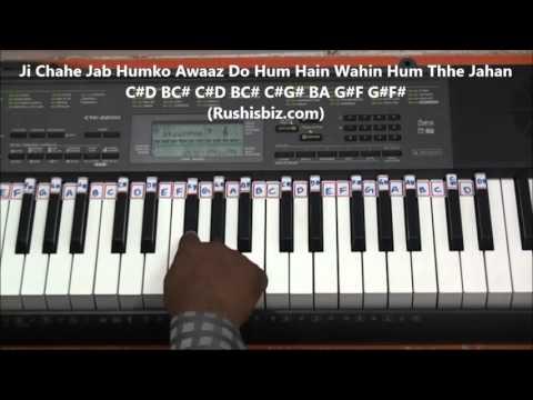 Jeena Yahan Marna Yahan ( PIANO TUTORIALS ) - Mera Naam Joker
