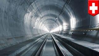 工程巨擘 瑞士新隧道3小時通義