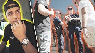 BYŁ PRZYPAŁ Z POLICJĄ! ♂️ BACKSTAGE z filmu z przyciskiem!