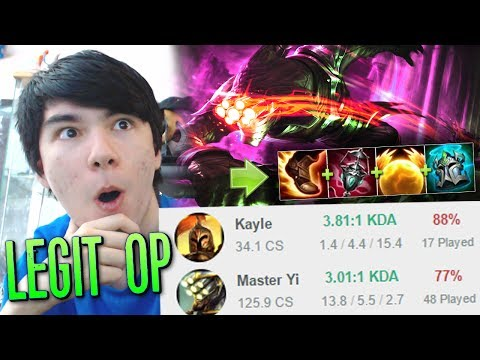 WE TRIED A CHINESE BOOSTING STRATEGY [ MASTER YI + KAYLE SUPPORT TOP ]
