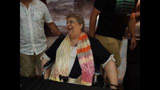 Ofelia Leiva regresó al festival del chamamé y el público la aplaudió de pie