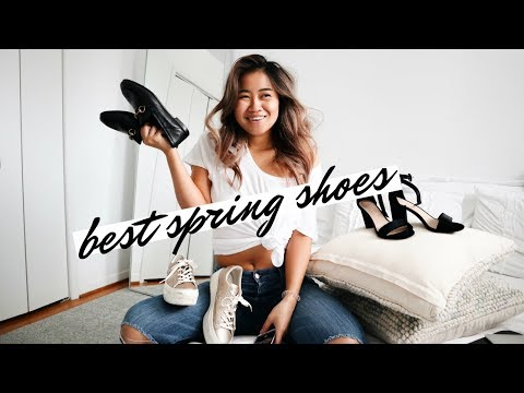 5 SHOES YOU NEED THIS SPRING!  Spring Wardrobe Edit