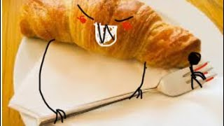 DO NOT EAT CROISSANTS AT 3 AM (SCARY)