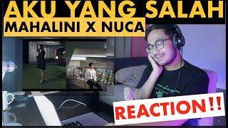 Download Mp3 Reaction! Mahalini X Nuca - Aku Yang Salah     | Rizky Haerum