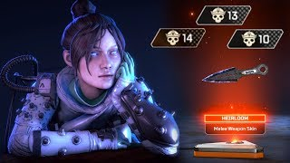 The Best Wraith Heirloom Moments EVER in Apex Legends
