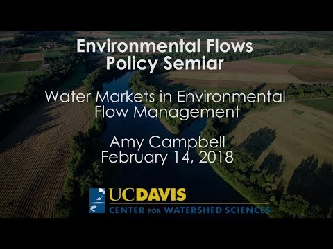 Water Markets in Environmental Flow Management