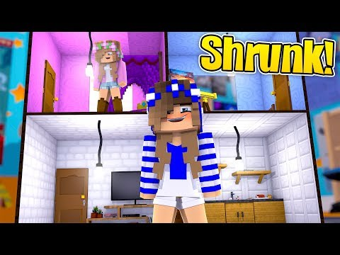 LITTLE CARLY GET SHRUNK!! (Minecraft Custom Roleplay)