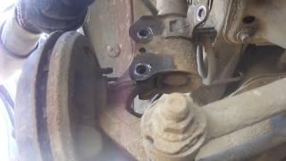 мазда 323 F 1998год BJ замена заднего амортизатора