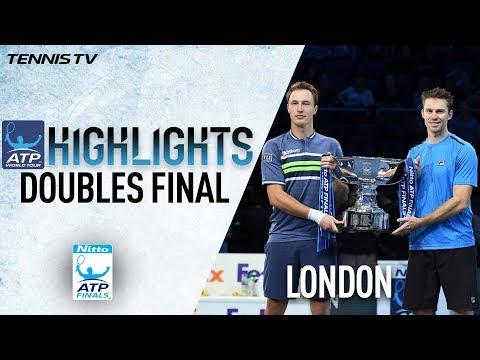 Highlights: Kontinen/Peers Retain 2017 Nitto ATP Finals Trophy