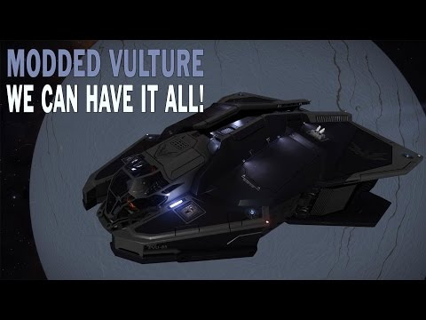Elite:Dangerous. Vulture-most ridiculous build or we can have it all now!