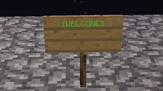 Minecraft shootcraft:Part 54 The welcome sign
