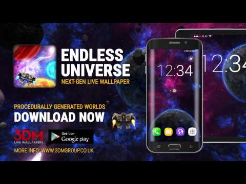 ENDLESS UNIVERSE LIVE WALLPAPER TRAILER