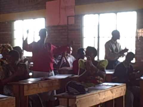 Teaching English in Rwanda 2009