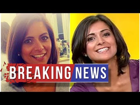 'Sexiest weather girl' Lucy Verasamy flashes assets in X-rated wardrobe malfunction