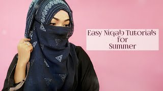 Easy Niqab Summer Tutorial | Pari ZaaD