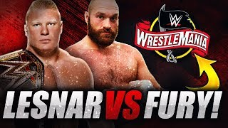 Brock Lesnar vs Tyson Fury o WWE Championship na WrestleManii 36?