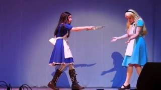 BAF 2016. #1-14. Групповое дефиле. Alice in Wonderland & Madness Returns