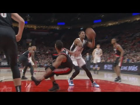 DeRozan Drops Turner! Rodney Hood Blazers Debut! 2018-19 NBA Season