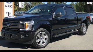 2018 Ford F-150 XLT FX4 Sport EcoBoost Supercrew Review| Island Ford