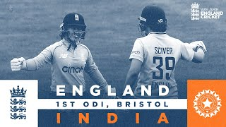 England v India - Highlights   England Ease to Eight-Wicket Win!   1st Women's Royal London ODI 2021