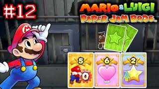 MARIO & LUIGI: PAPER JAM BROS. - Part 12 - BATTLE CARDS [ENGLISH]